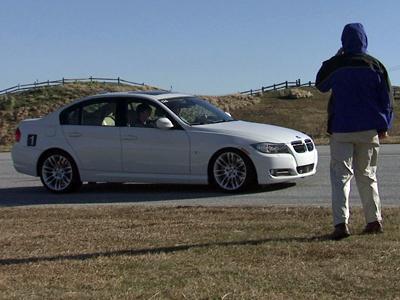 Teen drivers learn about braking hard