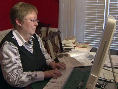 Becky Lytle received a scam e-mail claiming to be a friend who needed money. She later discovered her friend's e-mail had been hacked into.