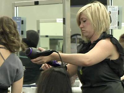 The Aveda Institute in Chapel Hill is one of several area cosmetology schools that offer salon services at lower prices to anyone willing to let a student handle the task.