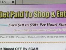 Many mystery shopping programs are scams