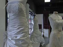 Dresses from seized Raleigh bridal salon up for auction