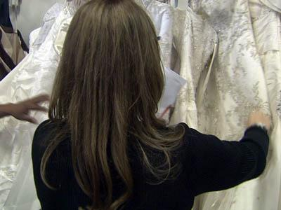 Brides to be – along with some future grooms – crowded into Diamond's Bridal in north Raleigh on Oct. 4, 2010, where the state Department of Revenue auctioned off the shop's inventory to pay back taxes.