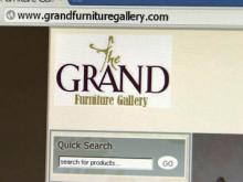 Grand Furniture Gallery website
