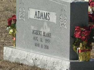 A gravestone is a final tribute to a loved one lost.