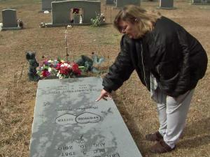 Wanda Miller's two children died in a car crash.