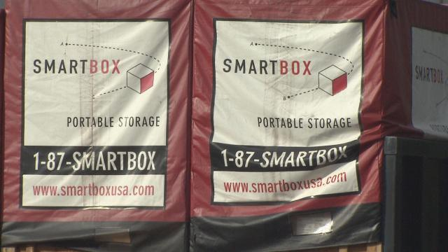 Smartbox is one of several portable storage companies in the Triangle area.