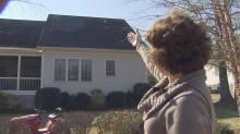 IMAGES: Roof rip-off leaves homeowners in the cold