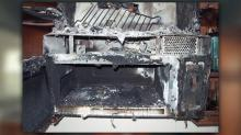 IMAGE: Self-starting microwaves impose fire hazard