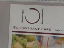The owner of Extravagant Fare catering took hefty downpayments from clients, who haven't heard from him since.