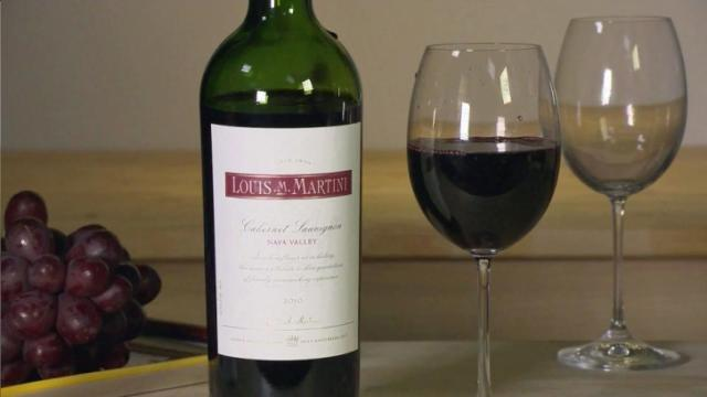 Louis Martini wine
