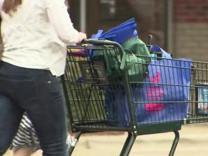 Thieves often target distracted female shoppers, grabbing their wallets out of open purses.