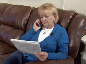 DirecTV customer Betty Mazor