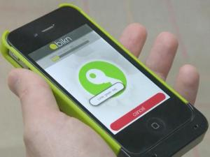 The BiKon app helps locate keys and other small items via Bluetooth signal.