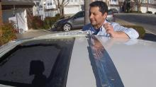 IMAGES: Shattering sunroofs still a scary issue for many drivers