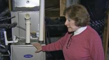 IMAGE: Homeowners find green heating units can't take the cold
