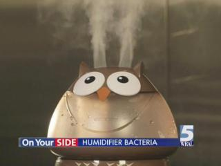 Following the manufacturer's recommendation for humidifier care is the best way to prevent the spread of bacteria.