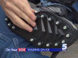 Consumer Reports tests devices to help you walk on ice
