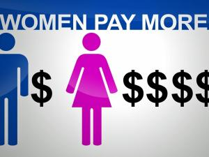 Women pay more