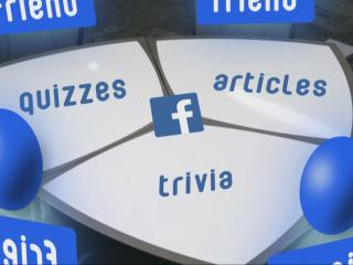 Your Facebook feed. It's full of updates, pictures, suggested articles and quizzes - the content often called clickbait.