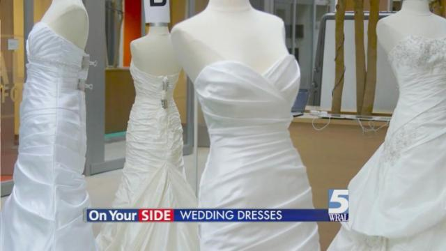 Borrowed, rented gowns can cut wedding dress costs