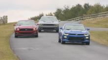 IMAGES: Muscle cars have weak showing in safety tests