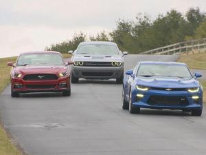"The term ""muscle car"" is often associated with powerful, American cars but recent tests by the Insurance Institute for Highway Safety show the cars may not be a safe option."