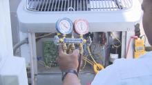 IMAGE: Can't stand the heat? Some home air conditioners stay cooler under pressure