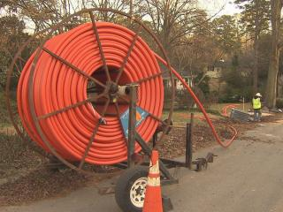 Cut water lines, no power, gas leaks – these are just some of the issues that homeowners across the Triangle have reported as more and more communities upgrade to offer faster internet speeds using fiber optic cable.