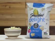 Some pre-popped popcorn provides tasty, healthy snack