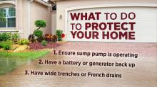 IMAGE: See, smell the hints of water damage before your home floods