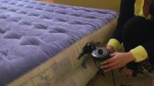 IMAGE: Air mattresses add sleeping space for holiday guests