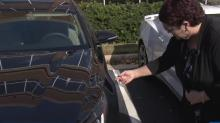 IMAGES: Woman blames Autobell car wash for scratches to vehicle