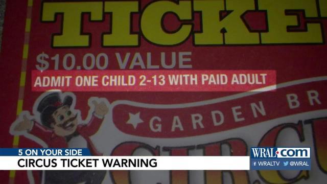 Are Garden Bros Circus Tickets A Good Deal Wral Com