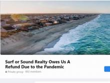 Hundreds share strategies online to get refunds on canceled beach rentals