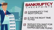 IMAGES: Consider these points before filing bankruptcy