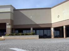empty shopping center