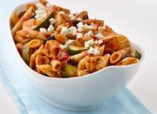 Mediterranean-Style Chicken and Whole Wheat Pasta