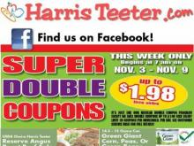 Smart Shopper: It's Super Doubles at Harris Teeter