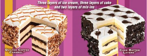 Cold Stone Eight Layer Cakes Sampling Event