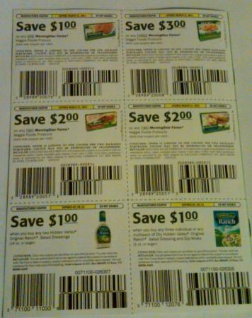 Morningstar coupons