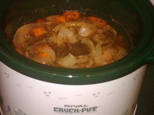 Slow Cooker beef and veggies