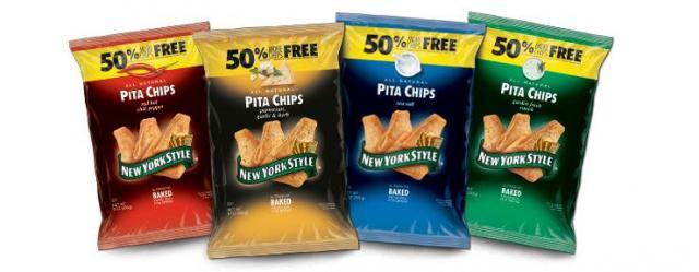 New York Style Pita Chips