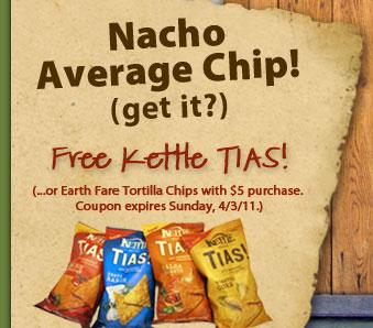 Free Earth Fare Chips