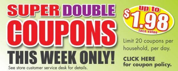 Harris Teeter Super Doubles!