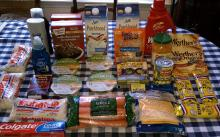 All this purchased at Harris Teeter Triples for 80 cents on 5-18-2011!