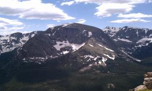 Here are the Rockies - yes, I grew up here!