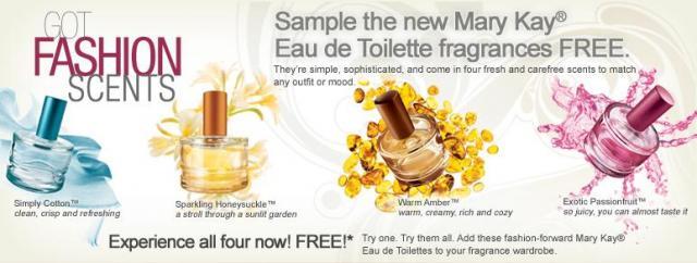 Mary Kay fragrances