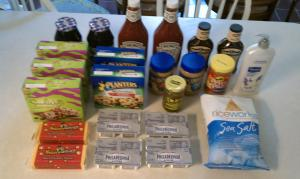 At today's Lowes Foods shop I bought $62.26 worth for $14.28 - a 77% savings!