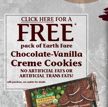 Earth Fare cookies
