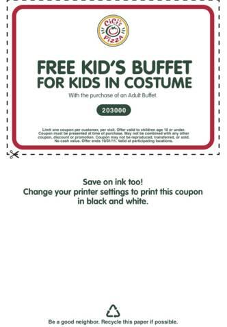 photo relating to Cici's Pizza Printable Coupons titled CiCis Pizza free of charge children buffet with grownup invest in ::